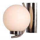 Arte Lamp A8170AP-1SS Бра  CLOUD 1x40W E14 матовое серебро
