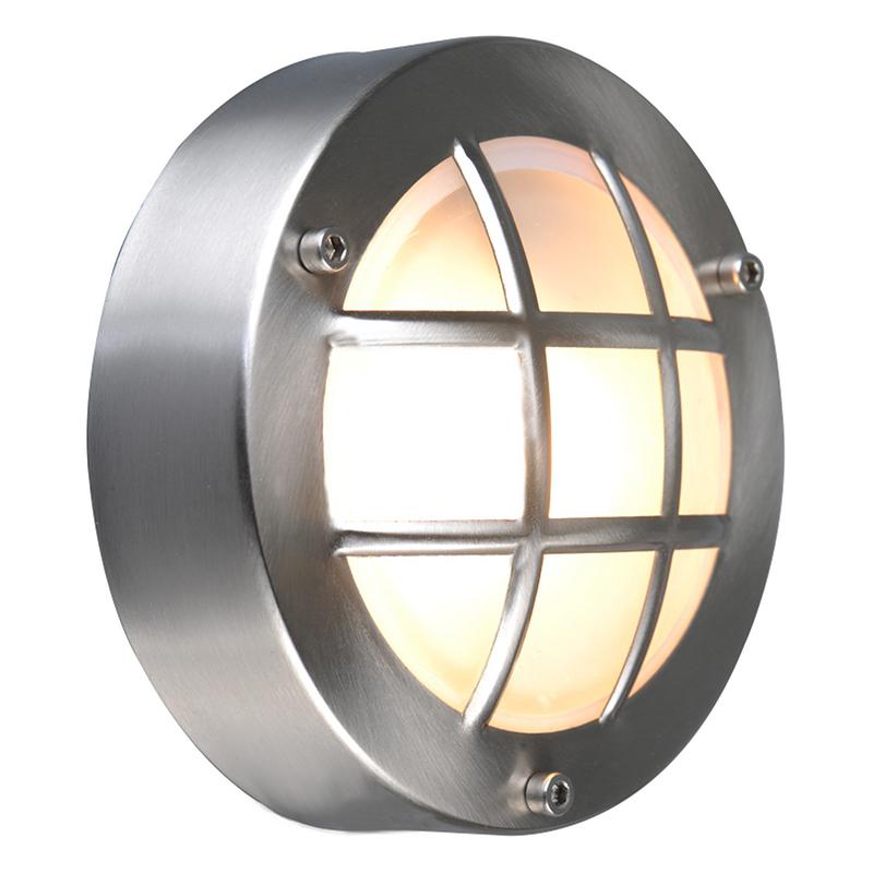 Arte Lamp A2361AL-1SS уличный настенный светильник  LANTERNS 1x20W G9 матовое серебро IP44