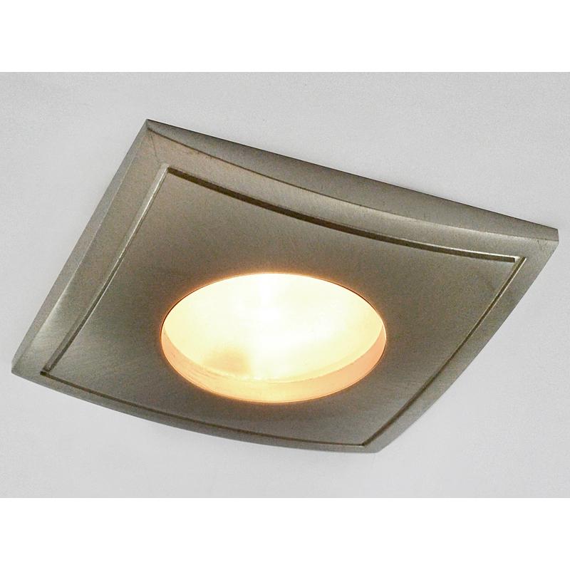 Arte Lamp A5444PL-3SS Встраиваемый светильник неповоротный AQUA 3x50W GU10 матовое серебро IP44