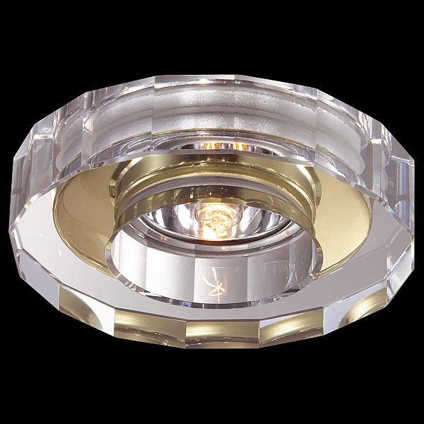 NOVOTECH 369413 Встраиваемый светильник неповоротный COSMO 1x40W G9 золото IP20