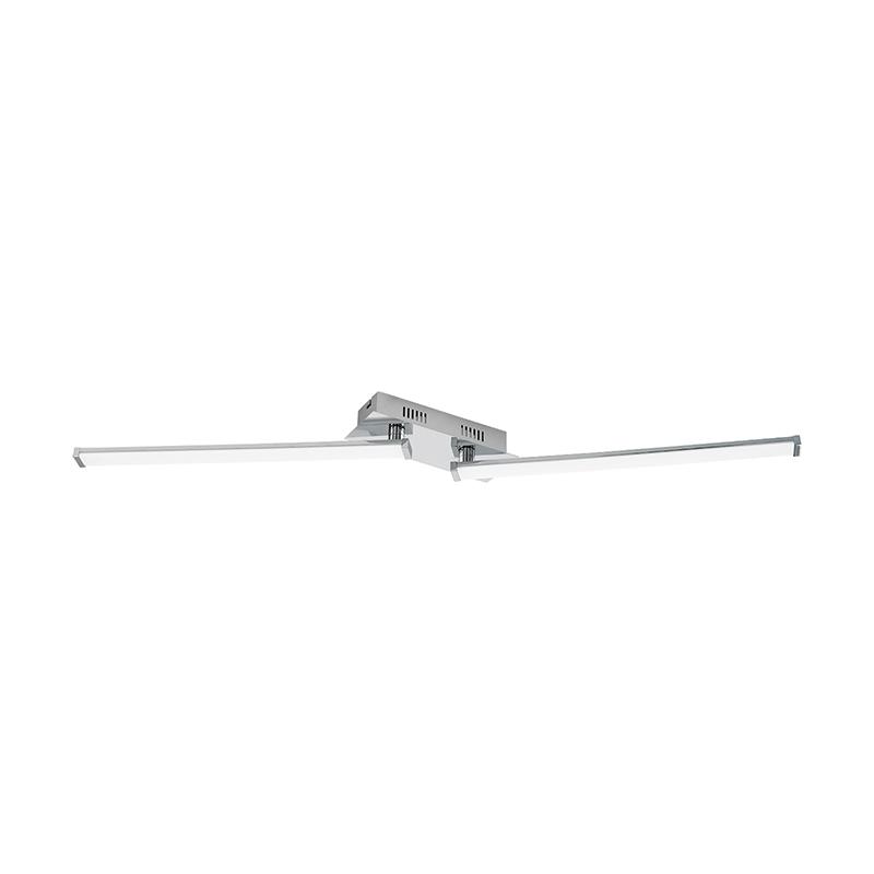 EGLO 96107 Светодиод. потол. светильник LASANA 2 регулир., 20W(LED), L1000, сталь, алюм., хром/пластик, белый