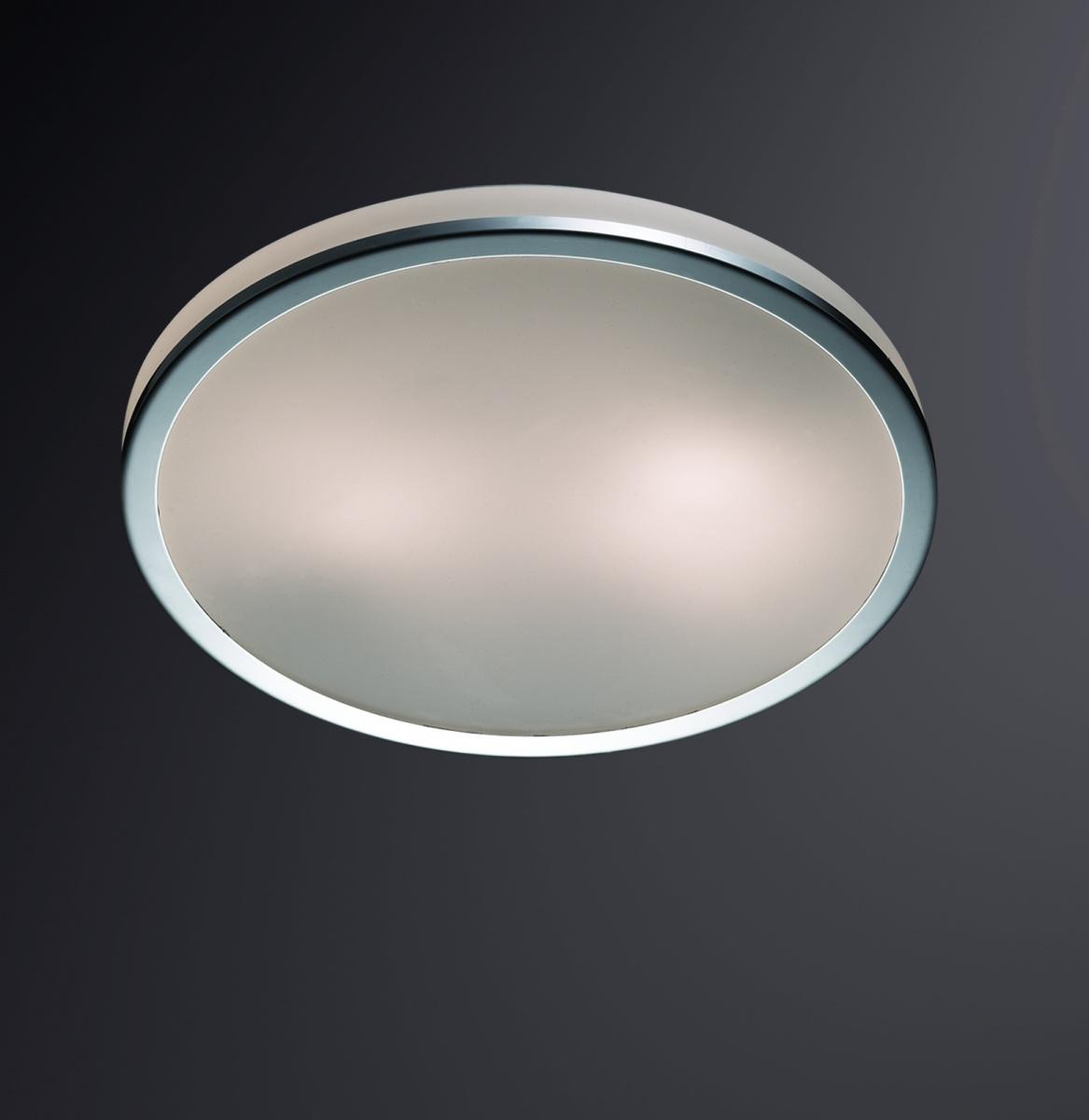 Odeon Light 2177/2C Настенно-потолочный светильник YUN 2х60W E27 IP44 хром