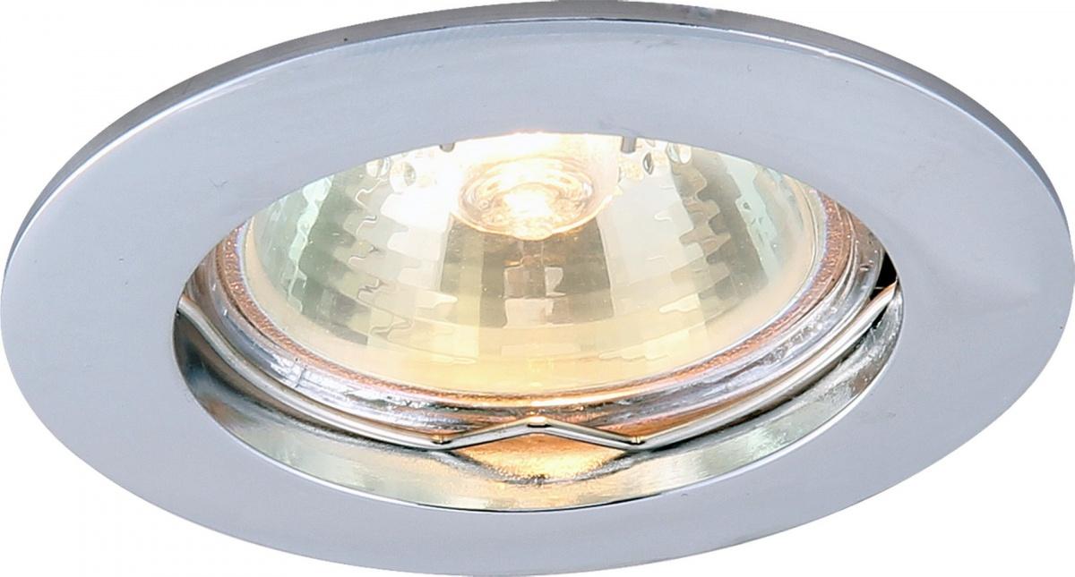 A2103PL-1CC Встраиваемый светильник BASIC 1x50W, 1xGU10 Arte Lamp