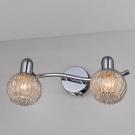 CITILUX CL604521 Подсветка Попурри 2x60W E14 хром/прозрачный с алюминиевым декором