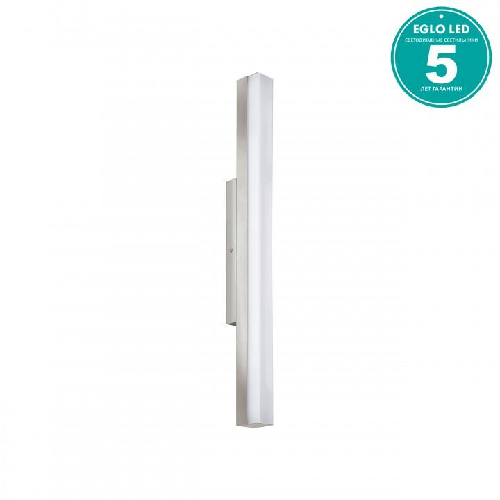 Eglo 94617 Светильник для зеркала TORRETTA 1x16W LED никель матовый/белый