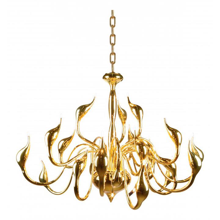 Lightstar 751242 Люстра CIGNO COLLO 24x20W G4 золото