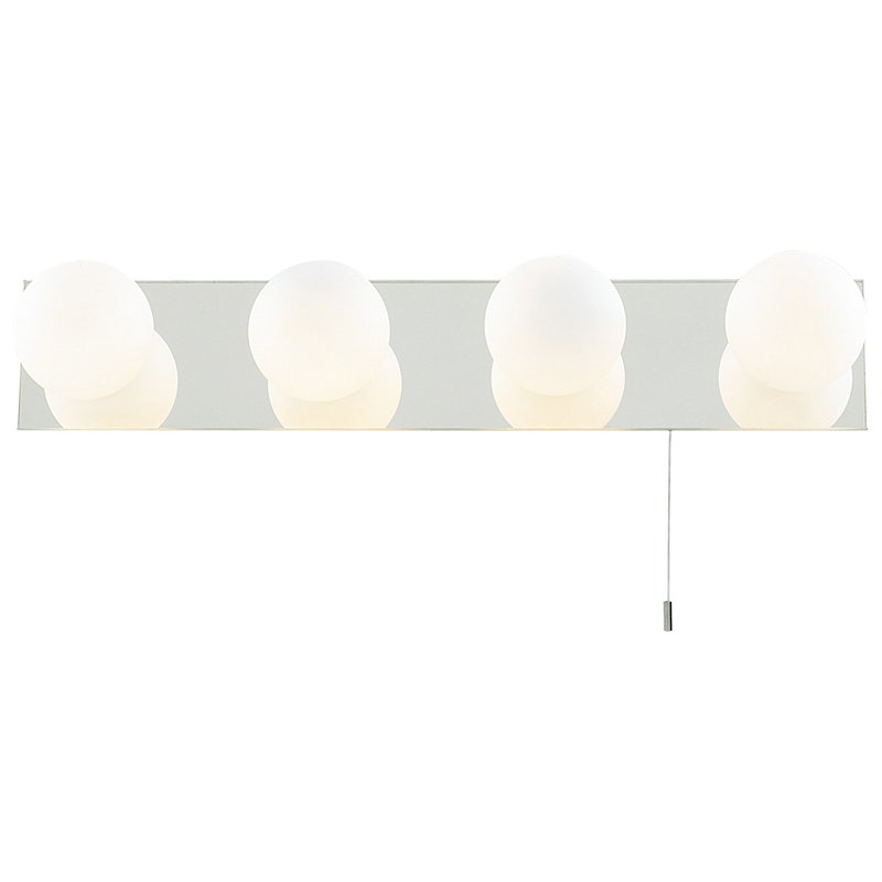 Arte Lamp A4444AP-4CC Светильник для зеркала  AQUA 4x40W G9 хром IP44