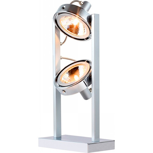 Globo 5645-2T Настольная лампа KURIANA 2x52W G9 хром