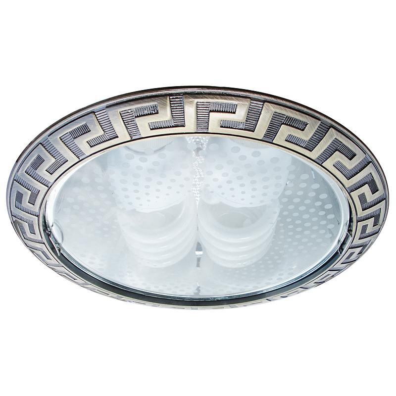 Arte Lamp A8015PL-2AB Встраиваемый светильник неповоротный GENERAL 2x26W E27 античная бронза IP23