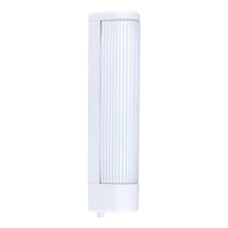 EGLO 94987 Подсветка для зеркала BARI 1, 2x40W (E14), L350, B60, пластик, белый/рифленое стекло, белый, с кноп. выкл.