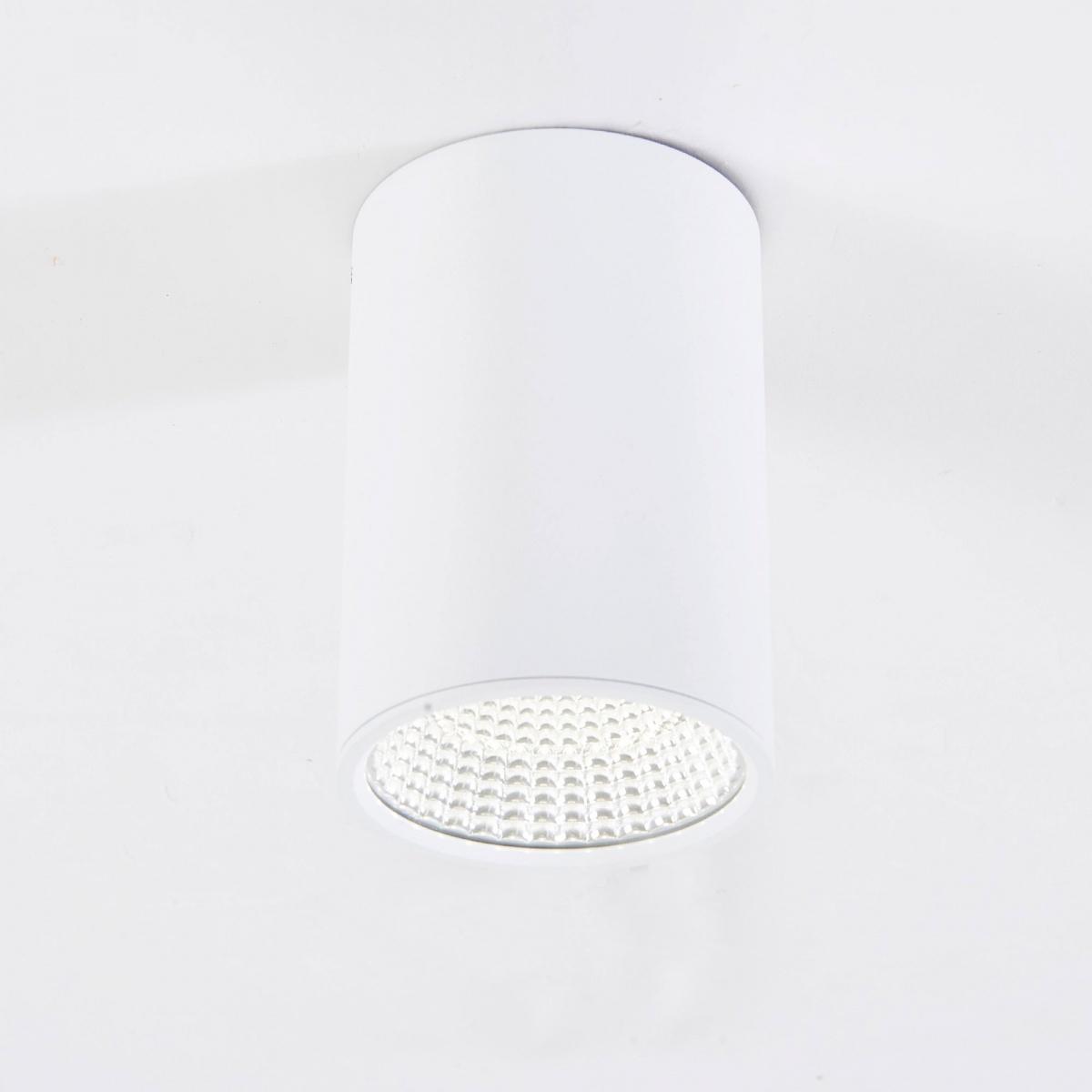 CITILUX CL558100 Накладной светильник СТАМП 1x10W LED белый