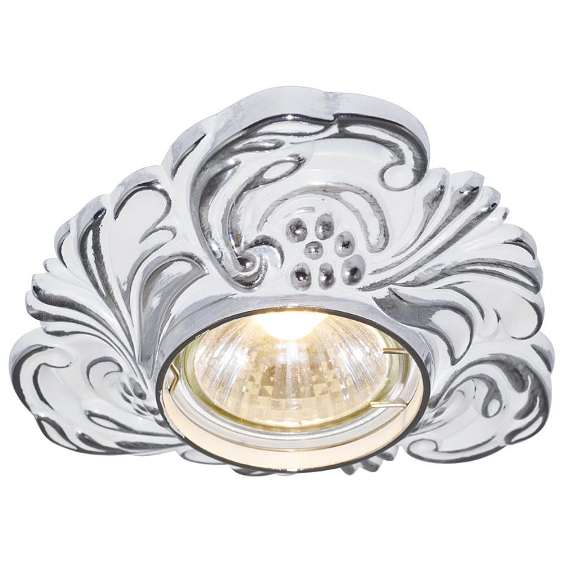 Arte Lamp A5285PL-1WA Встраиваемый светильник неповоротный OCCHIO 1x50W GU10 / G5,3 античный белый