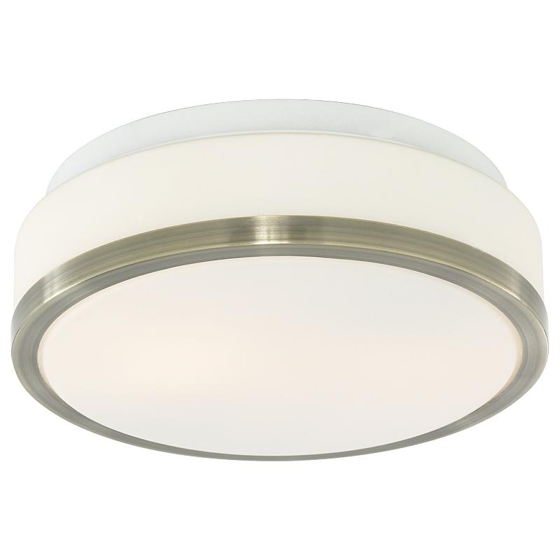 Arte Lamp A4440PL-2AB Настенно-потолочный светильник  AQUA 2x40W E27 античная бронза IP44