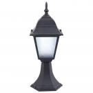 Arte Lamp A1014FN-1BK Цокольный светильник  BREMEN 1x60W E27 черный IP44