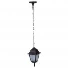 Arte Lamp A1015SO-1BK уличный подвесной светильник  BREMEN 1x60W E27 черный IP44
