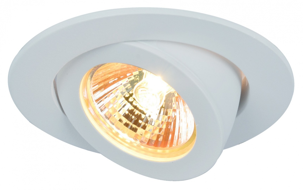A4009PL-1WH Встраиваемый светильник ACCENTO 1x50W, 1xGU10; 1xG5,3 Arte Lamp