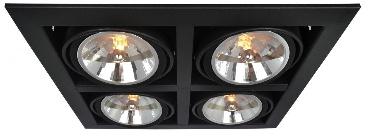 A5935PL-4BK Встраиваемый светильник CARDANI 4x50W, 4xG5,3 Arte Lamp
