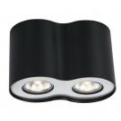 Arte Lamp A5633PL-2BK Накладной светильник FALCON 2x50W GU10 черный