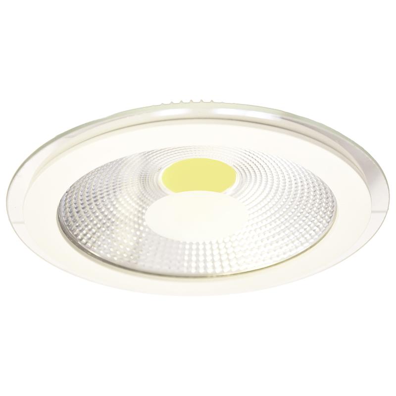 Arte Lamp A4210PL-1WH Встраиваемый светильник неповоротный RAGGIO 1x12W 960Lm 3000KW  белый