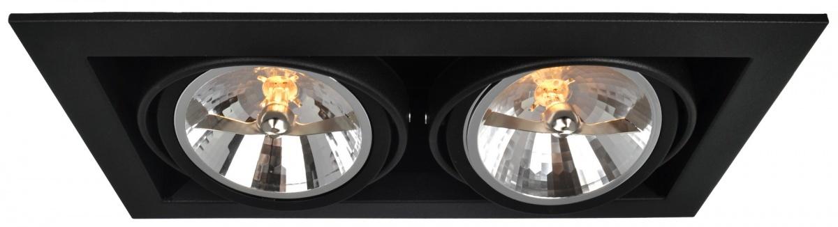 A5935PL-2BK Встраиваемый светильник CARDANI 2x50W, 2xG5,3 Arte Lamp
