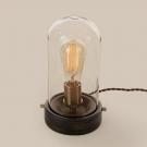 Citilux CL450801 Настольная лампа Эдисон 1x100W E27 Бронза / Прозрачный