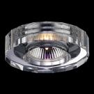 NOVOTECH 369275 Встраиваемый светильник неповоротный CRYSTAL 1x50W GX5.3 хром IP20