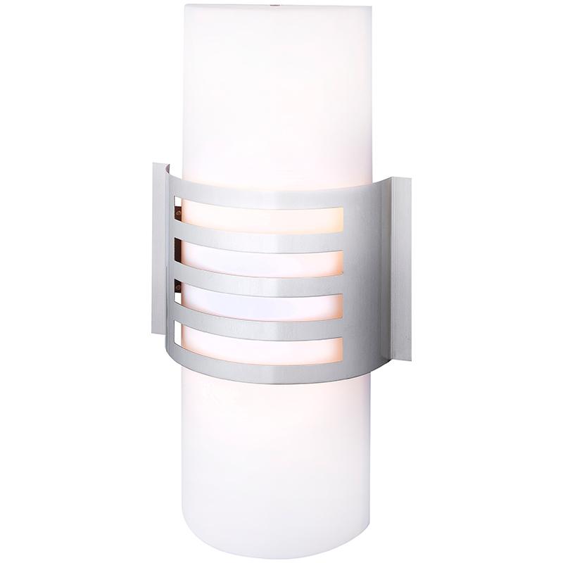 Globo 32095-2 Уличный настенно-потолочный светильник CARLINE 2x11W E27 хром