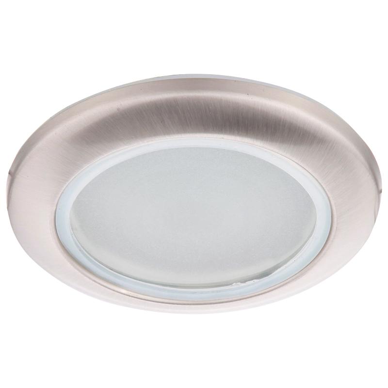 Arte Lamp A2024PL-3SS Встраиваемый светильник неповоротный AQUA 3x50W GU10 матовое серебро IP44