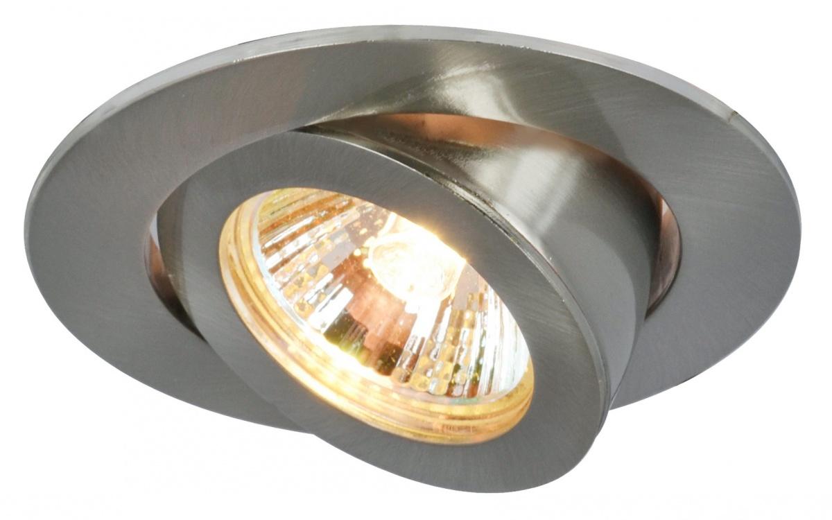 A4009PL-1SS Встраиваемый светильник ACCENTO 1x50W, 1xGU10; 1xG5,3 Arte Lamp