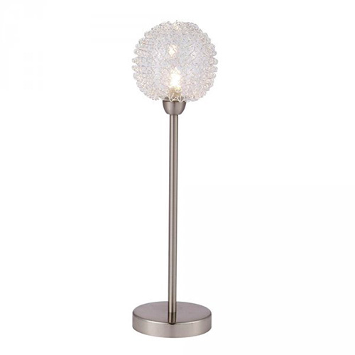 Globo 5662-1T Настольная лампа ENIGMA 1x33W G9 никель