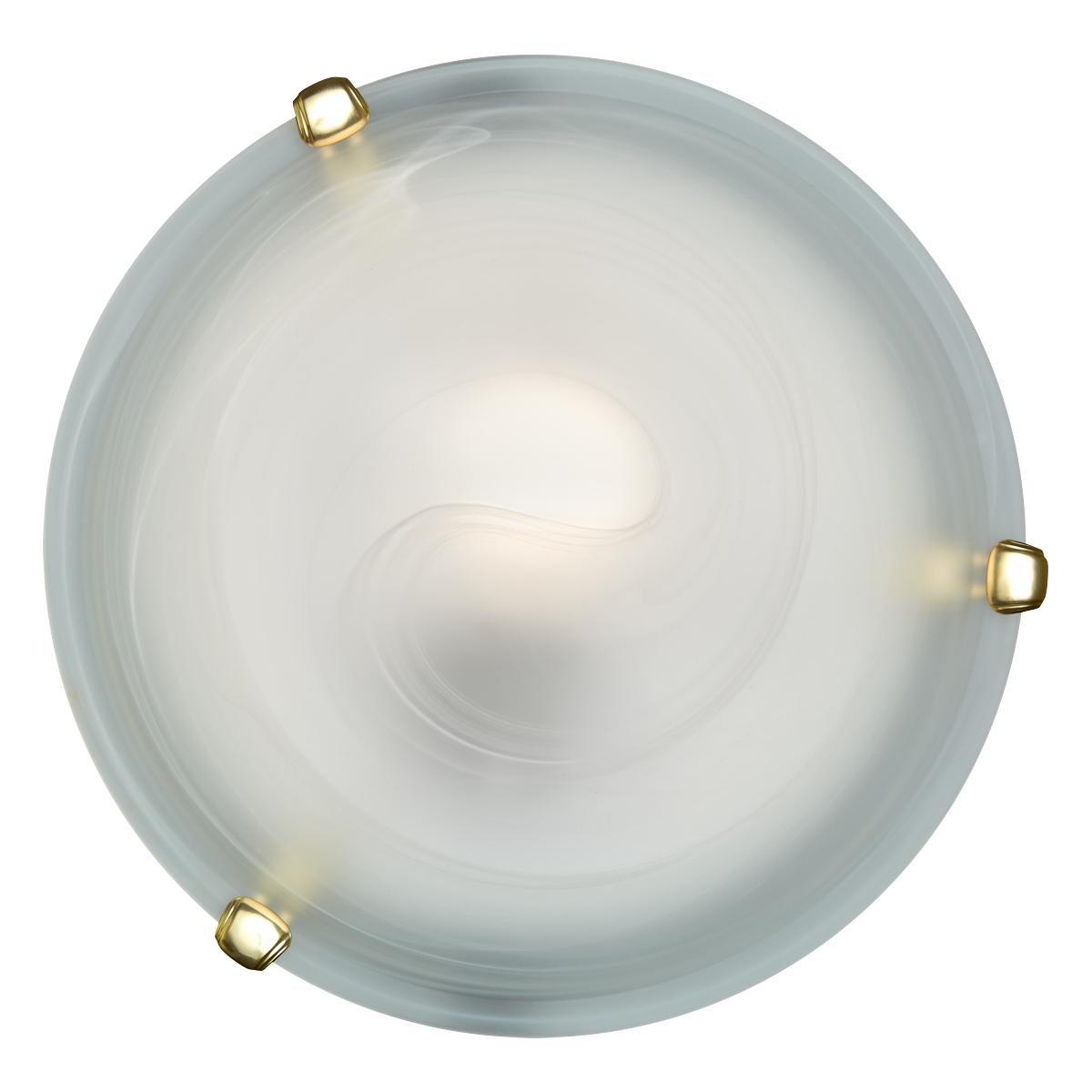 153/K золото SN16 000 золото Н/п светильник E27 2*60W 220V DUNA Sonex