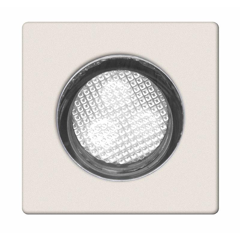 Brilliant G02893/82 Комплект из 10-х встраиваемых светильников ASTA 30 30x0,5W  LED хром/прозрачный IP44