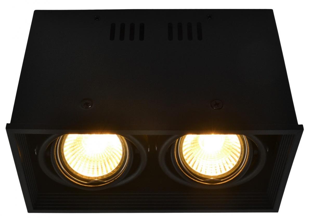 A5942PL-2BK Накладной светильник CARDANI 2x50W, 2xGU10 Arte Lamp