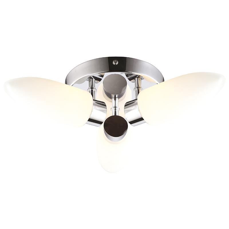 Arte Lamp A9502PL-3CC Настенно-потолочный светильник AQUA 3x33W G9 хром / белый матовый
