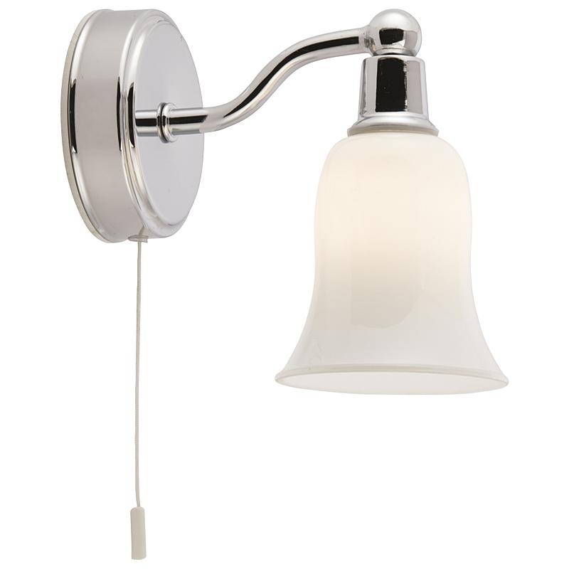 Arte Lamp A2944AP-1CC Бра AQUA 1x28W G9 хром / белый матовый