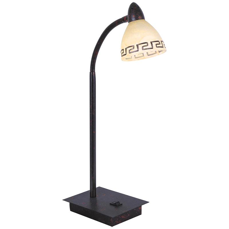 Globo 5684-1T Настольная лампа ROMA 1x33W G9 тёмный