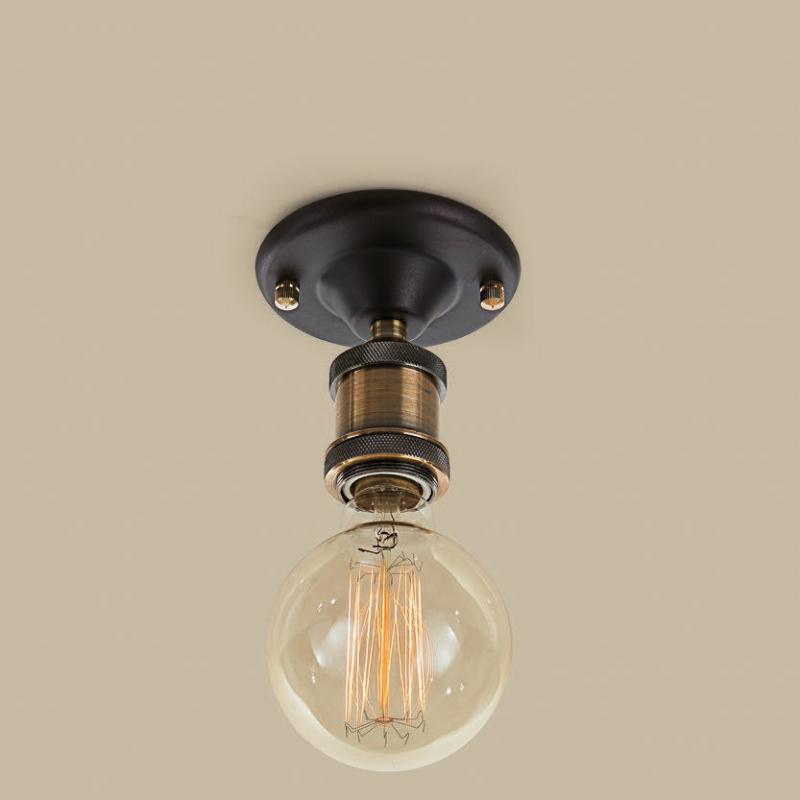 Citilux CL450500 Потолочный светильник Эдисон 1x100W E27 Бронза