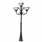 Arte Lamp A1497PA-4BK уличный светильник столб  MONAKO 1x100W E27 черный IP44
