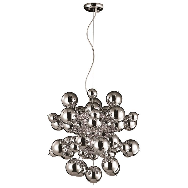 Arte Lamp A8313SP-9CC Люстра потолочная MOLECULE 9x40W G9 хром