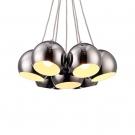Arte Lamp A8072SP-7CC Подвес RONDO 7x40W E27 хром / хром