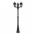 Arte Lamp A1017PA-3BK уличный светильник столб  BREMEN 1x60W E27 черный IP44