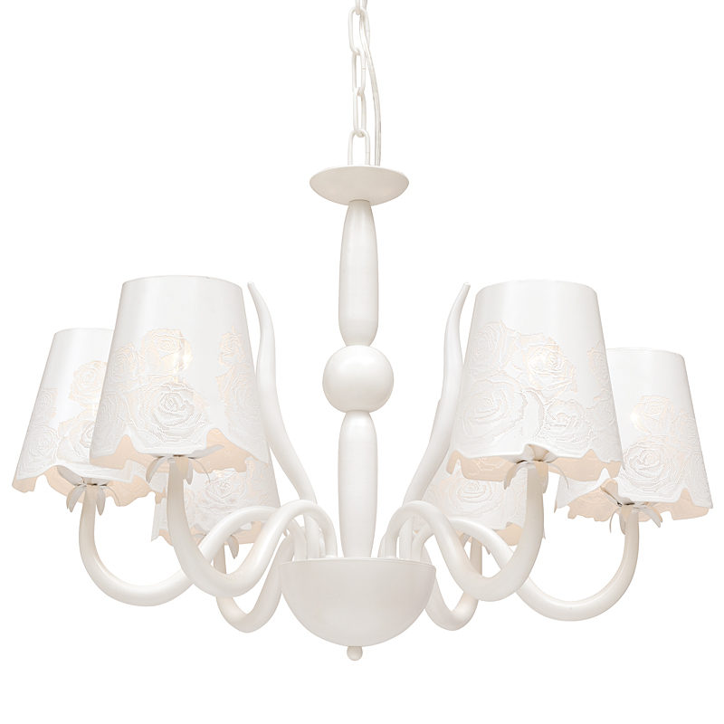 Arte Lamp A2020LM-6WH Люстра ATTORE 6x40W Е14 белый