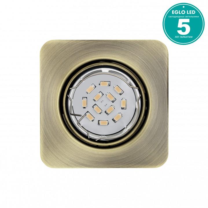 Eglo 94265 Встраиваемый светильник неповоротный PENETO 1x5W GU10 LED бронзовый
