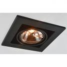 Arte Lamp A5930PL-1BK Встраиваемый светильник поворотный TECHNIKA 1x50W G53 черный IP23