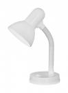 Eglo 9229 настольная лампа  BASIC 1x60W белый IP20