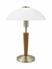 Eglo 87256 настольная лампа  SOLO 1 1x60W коричневый IP20