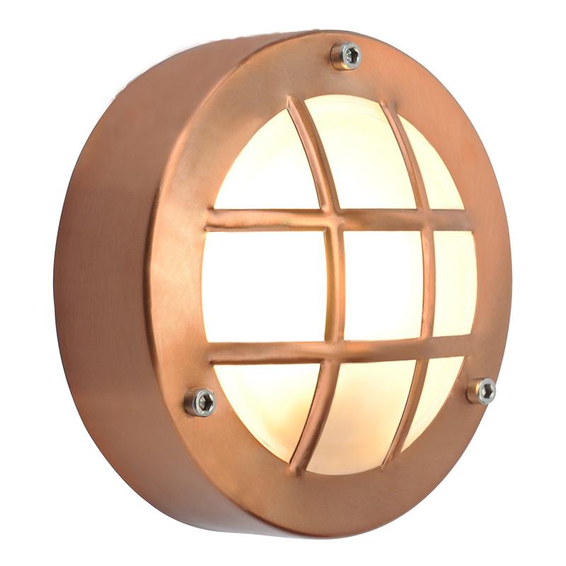 Arte Lamp A2361AL-1RB уличный настенный светильник  LANTERNS 1x20W G9 красная бронза IP44