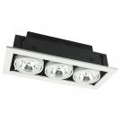 Arte Lamp A5930PL-3WH Встраиваемый светильник поворотный TECHNIKA 3x50W G53 белый IP23
