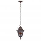 Arte Lamp A1015SO-1BN уличный подвесной светильник  BERLIN 1x100W E27 черно-золотой IP44