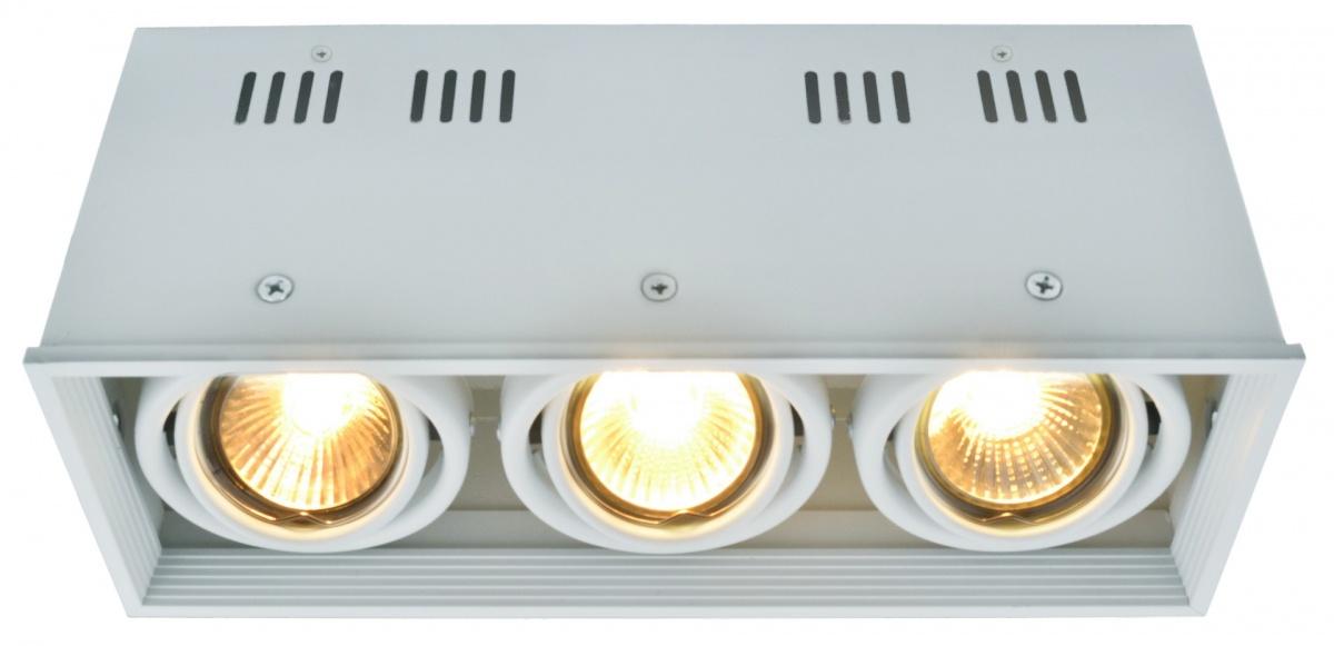 A5942PL-3WH Накладной светильник CARDANI 3x50W, 3xGU10 Arte Lamp